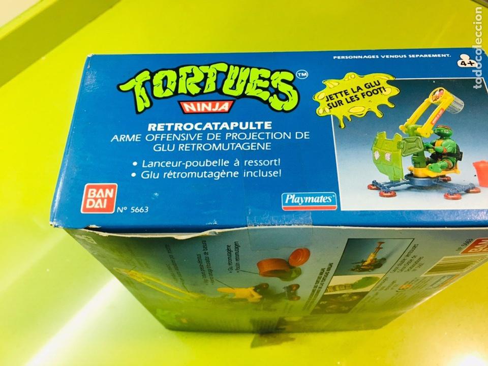 Figuras y Muñecos Tortugas Ninja: Cañón doble de desatascadores Tortugas Ninja, Bandai 1988, Tortues, turtles, - Foto 6 - 176148038