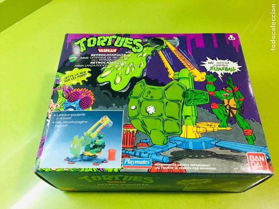 CAÑÓN DOBLE DE DESATASCADORES TORTUGAS NINJA, BANDAI 1988, TORTUES, TURTLES, (Juguetes - Figuras de Acción - Tortugas Ninja)
