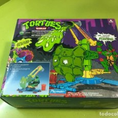Figuras y Muñecos Tortugas Ninja: RETROCATAPULTA LANZA BASURA TORTUGAS NINJA, BANDAI 1989, REF 5663,TORTUES, TURTLES,. Lote 176224780