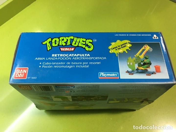 Figuras y Muñecos Tortugas Ninja: Retrocatapulta lanza basura Tortugas Ninja, Bandai 1989, ref 5663,Tortues, turtles, - Foto 2 - 176224780