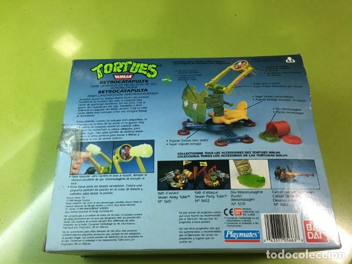 Figuras y Muñecos Tortugas Ninja: Retrocatapulta lanza basura Tortugas Ninja, Bandai 1989, ref 5663,Tortues, turtles, - Foto 4 - 176224780