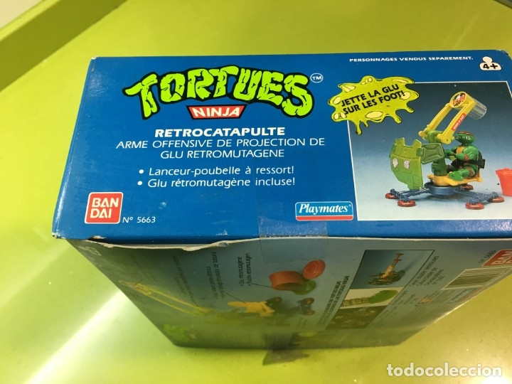 Figuras y Muñecos Tortugas Ninja: Retrocatapulta lanza basura Tortugas Ninja, Bandai 1989, ref 5663,Tortues, turtles, - Foto 7 - 176224780