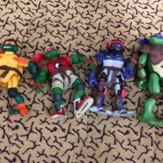 Figuras y Muñecos Tortugas Ninja: LOTE DE 4 TORTUGAS NINJA - VER LAS FOTOS. Lote 177214313