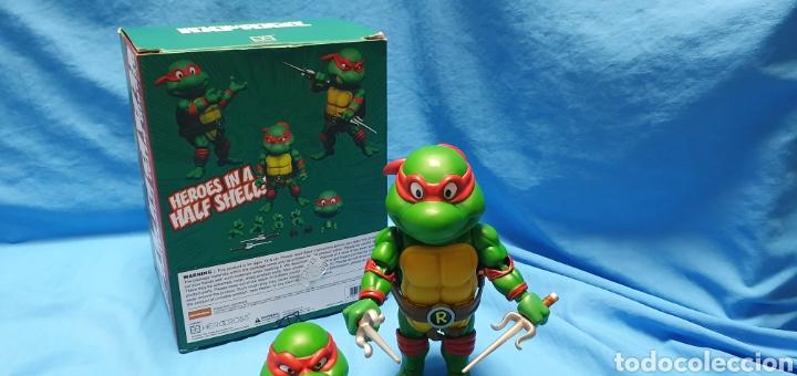 Figuras y Muñecos Tortugas Ninja: Figura raphael turtles hybrid metal tortugas ninja viacom 2016 + regalo . Ver - Foto 5 - 177425317