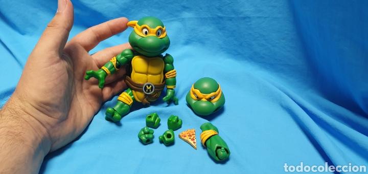 Figuras y Muñecos Tortugas Ninja: Figura raphael turtles hybrid metal tortugas ninja viacom 2016 + regalo . Ver - Foto 7 - 177425317