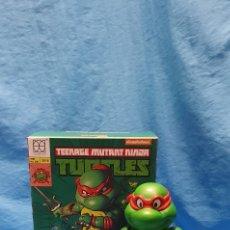 Figuras y Muñecos Tortugas Ninja: FIGURA RAPHAEL TURTLES HYBRID METAL TORTUGAS NINJA VIACOM 2016 + REGALO . VER. Lote 177425317