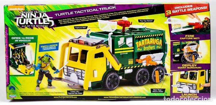 Figuras y Muñecos Tortugas Ninja: Figura Caja Camión Truck- Tortugas Ninja TMNT - Teenage Mutant Ninja Turtles - Foto 2 - 142722758