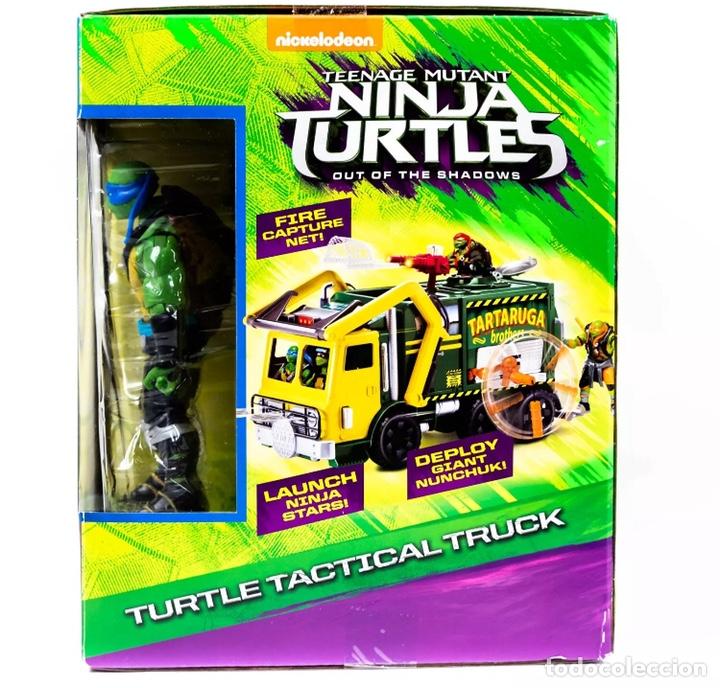 Figuras y Muñecos Tortugas Ninja: Figura Caja Camión Truck- Tortugas Ninja TMNT - Teenage Mutant Ninja Turtles - Foto 3 - 142722758