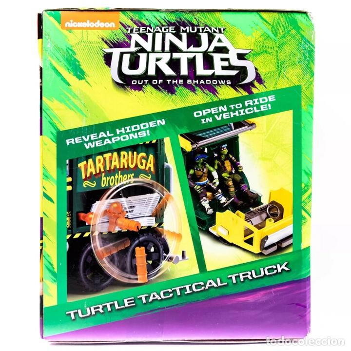 Figuras y Muñecos Tortugas Ninja: Figura Caja Camión Truck- Tortugas Ninja TMNT - Teenage Mutant Ninja Turtles - Foto 4 - 142722758