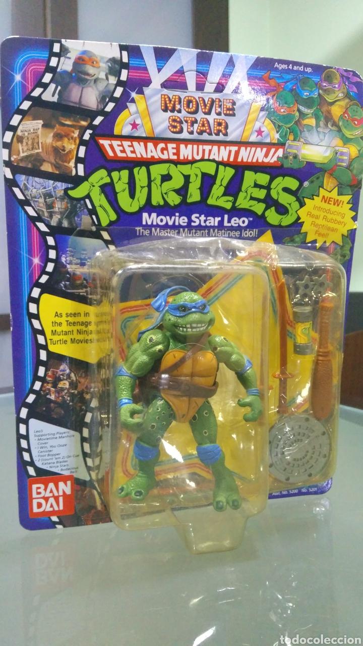 Figuras y Muñecos Tortugas Ninja: Teenage Mutant Ninja Turtles Movie Star Leo - Foto 2 - 178380477