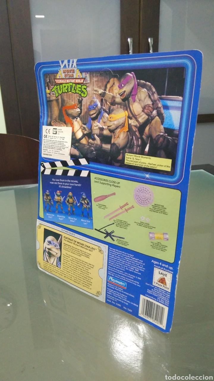 Figuras y Muñecos Tortugas Ninja: Teenage Mutant Ninja Turtles Movie Star Leo - Foto 3 - 178380477