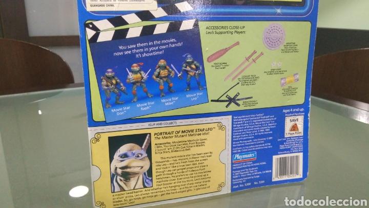 Figuras y Muñecos Tortugas Ninja: Teenage Mutant Ninja Turtles Movie Star Leo - Foto 4 - 178380477