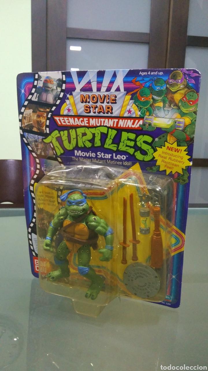 TEENAGE MUTANT NINJA TURTLES MOVIE STAR LEO (Juguetes - Figuras de Acción - Tortugas Ninja)