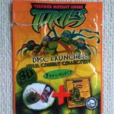Figuras y Muñecos Tortugas Ninja: SOBRE VACÍO TORTUGAS NINJA TURTLES DISC LAUNCHER NINJA COMBAT COLLECTION. Lote 179148630