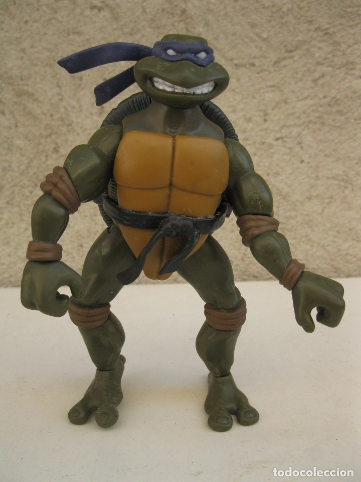 DONATELLO - LAS TORTUGAS NINJA - FIGURA ARTICULADA - PLAYMATES TOYS - MIRAGE STUDIOS. (Juguetes - Figuras de Acción - Tortugas Ninja)