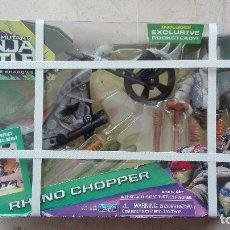 Figuras y Muñecos Tortugas Ninja: NINJA TURTLES RHINO CHOPPER PLAYMATES TORTUGAS NINJA TEENAGE MUTANT. Lote 179242062