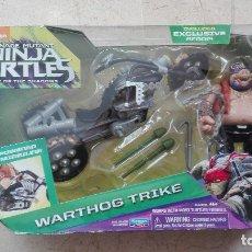 Figuras y Muñecos Tortugas Ninja: NINJA TURTLES WARTHOG TRIKE PLAYMATES TORTUGAS NINJA TEENAGE MUTANT. Lote 179242168