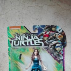 Figuras y Muñecos Tortugas Ninja: NINJA TURTLES NICKELODEON OUT OF THE SHADOWS APRIL O´NEIL PLAYMATES TORTUGAS NINJA TEENAGE MUTANT. Lote 179248686
