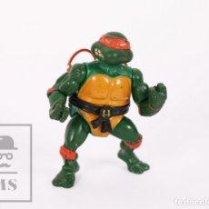 Figuras y Muñecos Tortugas Ninja: FIGURA DE ACCIÓN DE TORTUGAS NINJA - MICHELANGELO CON NUNCHAKUS - 1ª EDICIÓN - PLAYMATES TOYS, 1988. Lote 180862937