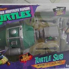 Figuras y Muñecos Tortugas Ninja: TEENAGE MUTANT NINJA TURTLES TURTLE SUB TORTUGAS NINJA. Lote 180922297