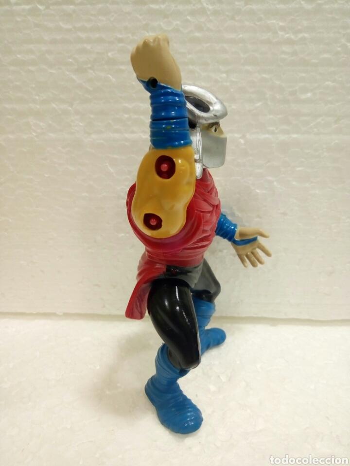 Figuras y Muñecos Tortugas Ninja: TMNT SHREDDER de 1990 Playmates Toys. - Foto 4 - 181531326