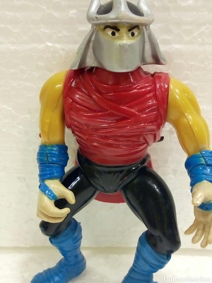 Figuras y Muñecos Tortugas Ninja: TMNT SHREDDER de 1990 Playmates Toys. - Foto 5 - 181531326