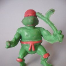 Figuras y Muñecos Tortugas Ninja: RARA VINTAGE TMNT FIGURA TORTUGA NINJA BOOTLEG DE GOMA. Lote 182032925