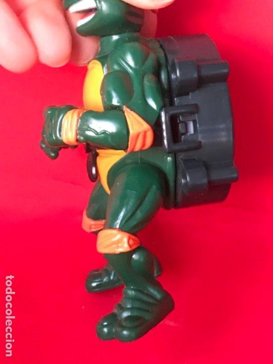 Figuras y Muñecos Tortugas Ninja: Tortuga ninja city sewer 1991 tmnt Mirage Toys Teenage Mutant Ninja Turtles mickelangelo - Foto 3 - 183175133