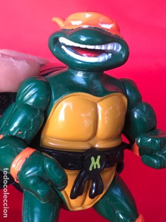 Figuras y Muñecos Tortugas Ninja: Tortuga ninja city sewer 1991 tmnt Mirage Toys Teenage Mutant Ninja Turtles mickelangelo - Foto 6 - 183175133