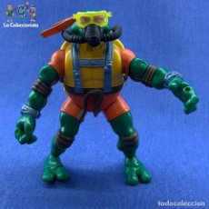 Figuras y Muñecos Tortugas Ninja: TORTUGAS NINJAS - MICHELANGELO - DEEP DIVIN - THE LEAN GREEN IN THE ULTRAMARINE - PLAYMATES 2004. Lote 183293325