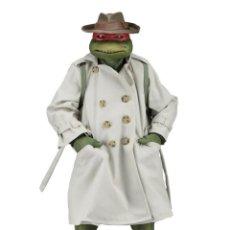 Figuras y Muñecos Tortugas Ninja: NECA FIGURA RAPHAEL CON DISFRAZ TEENAGE MUTANT NINJA TURTLES ESCALA 18 - 2018 ORIGINAL NUEVA 40.CM. Lote 183527697