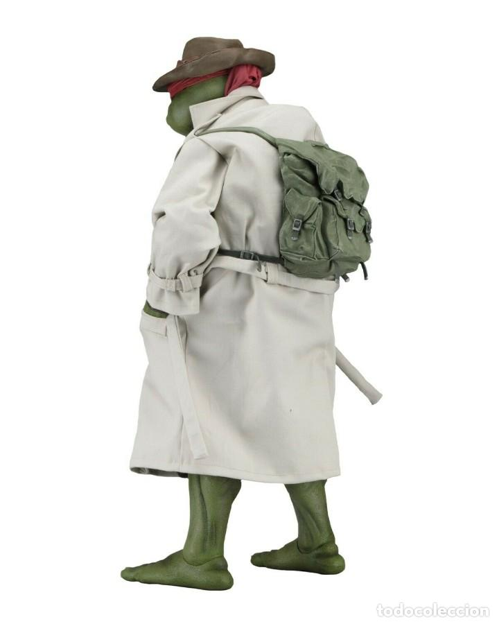 Figuras y Muñecos Tortugas Ninja: NECA FIGURA Raphael CON Disfraz Teenage Mutant Ninja Turtles escala 18 - 2018 ORIGINAL NUEVA 40.CM - Foto 2 - 183527697