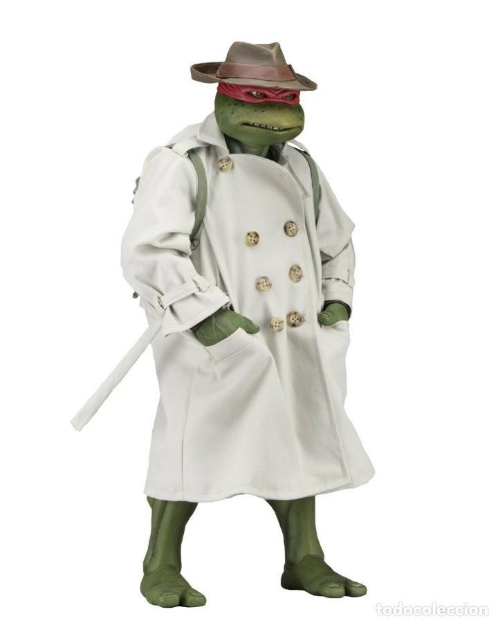 Figuras y Muñecos Tortugas Ninja: NECA FIGURA Raphael CON Disfraz Teenage Mutant Ninja Turtles escala 18 - 2018 ORIGINAL NUEVA 40.CM - Foto 3 - 183527697