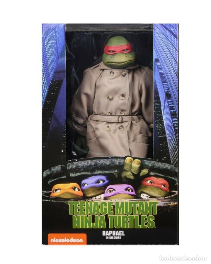 Figuras y Muñecos Tortugas Ninja: NECA FIGURA Raphael CON Disfraz Teenage Mutant Ninja Turtles escala 18 - 2018 ORIGINAL NUEVA 40.CM - Foto 4 - 183527697