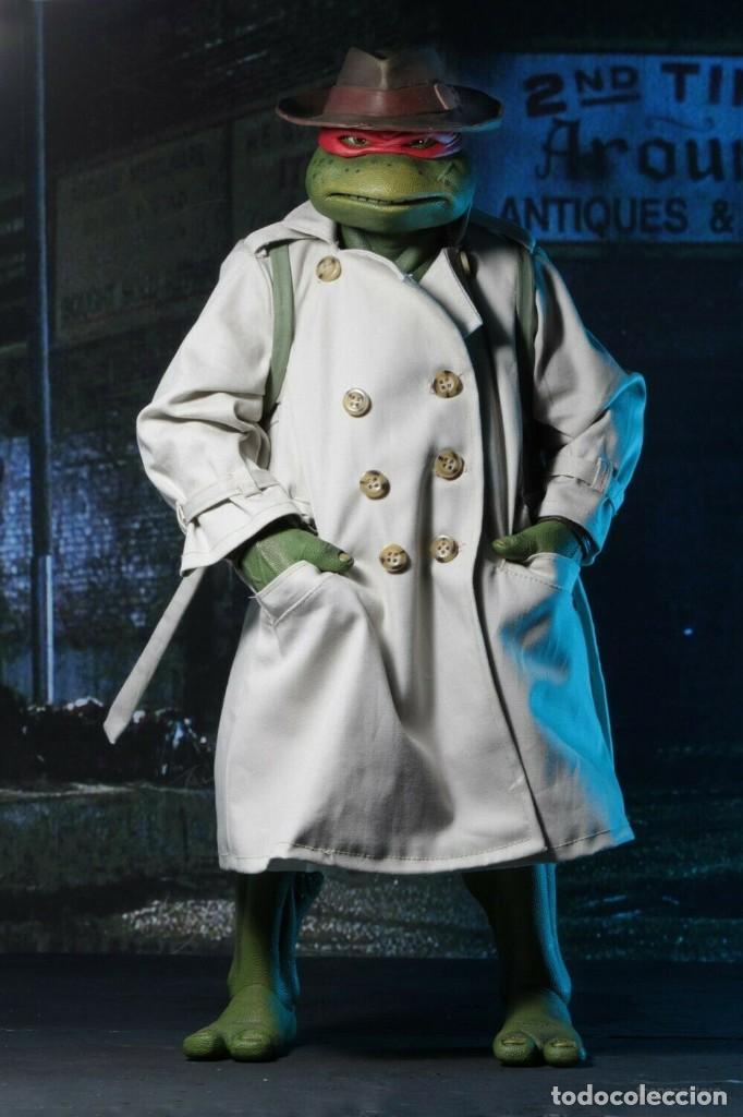 Figuras y Muñecos Tortugas Ninja: NECA FIGURA Raphael CON Disfraz Teenage Mutant Ninja Turtles escala 18 - 2018 ORIGINAL NUEVA 40.CM - Foto 7 - 183527697