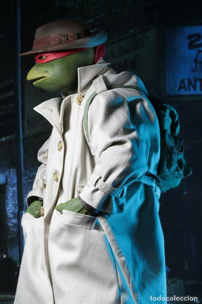 Figuras y Muñecos Tortugas Ninja: NECA FIGURA Raphael CON Disfraz Teenage Mutant Ninja Turtles escala 18 - 2018 ORIGINAL NUEVA 40.CM - Foto 8 - 183527697
