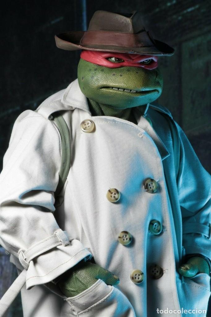 Figuras y Muñecos Tortugas Ninja: NECA FIGURA Raphael CON Disfraz Teenage Mutant Ninja Turtles escala 18 - 2018 ORIGINAL NUEVA 40.CM - Foto 10 - 183527697