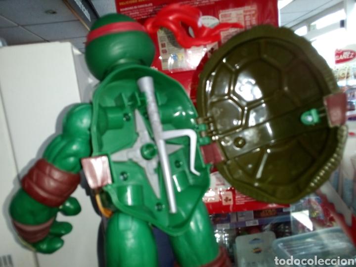 Figuras y Muñecos Tortugas Ninja: Tortuga Ninja. Tamaño grande 24 cm alto. Playmates Toys. 2012 - Foto 3 - 183573012