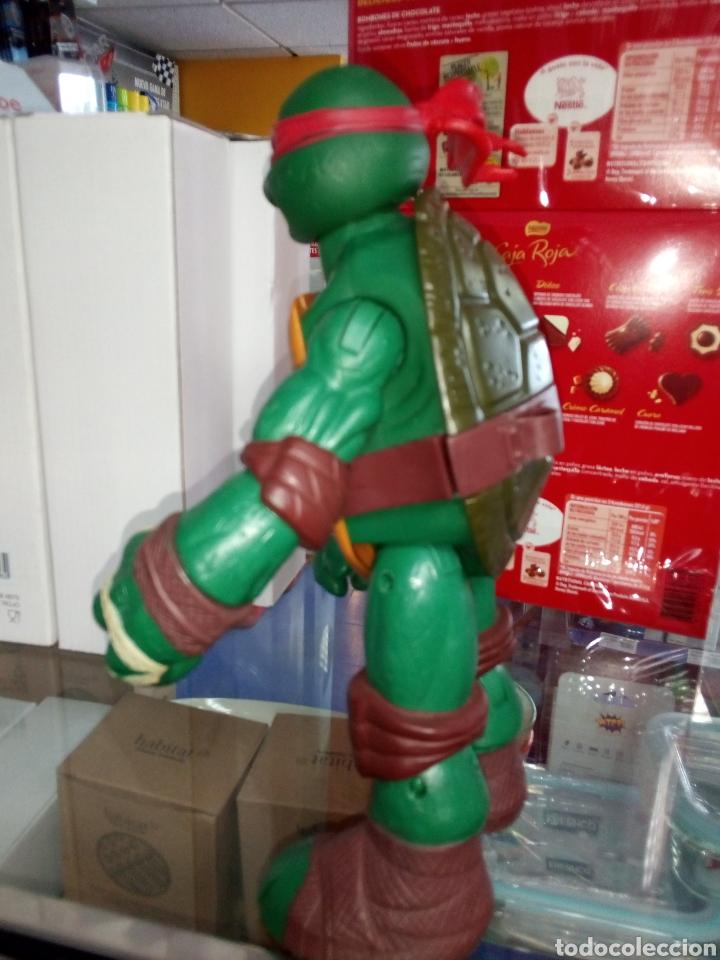 Figuras y Muñecos Tortugas Ninja: Tortuga Ninja. Tamaño grande 24 cm alto. Playmates Toys. 2012 - Foto 5 - 183573012