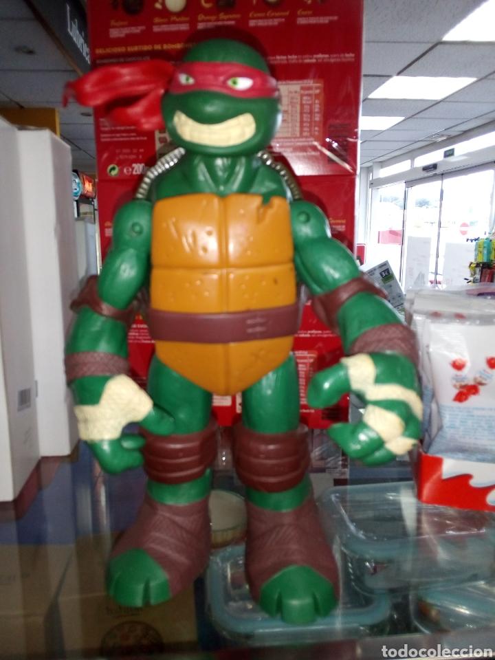 Figuras y Muñecos Tortugas Ninja: Tortuga Ninja. Tamaño grande 24 cm alto. Playmates Toys. 2012 - Foto 8 - 183573012