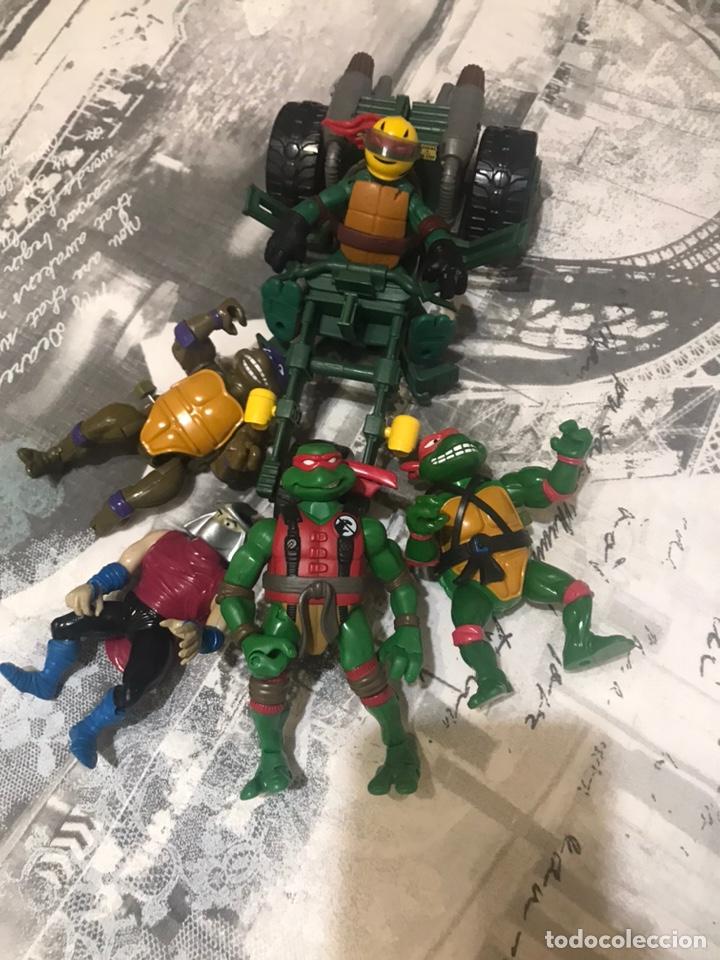 LOTE TORTUGAS NINJA (Juguetes - Figuras de Acción - Tortugas Ninja)