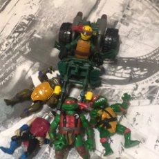 Figuras y Muñecos Tortugas Ninja: LOTE TORTUGAS NINJA. Lote 183604527