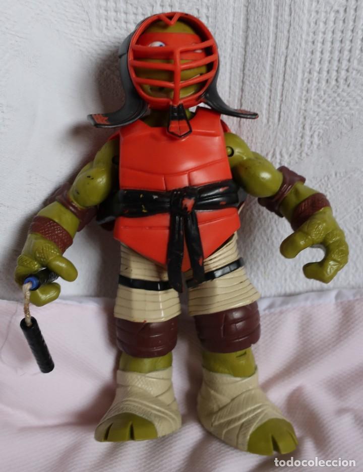 Figuras y Muñecos Tortugas Ninja: TRES TORTUGAS GRANDES, 26CM PLAYMATES 2012, 2014 Y SIN MARCAR - Foto 4 - 183913617