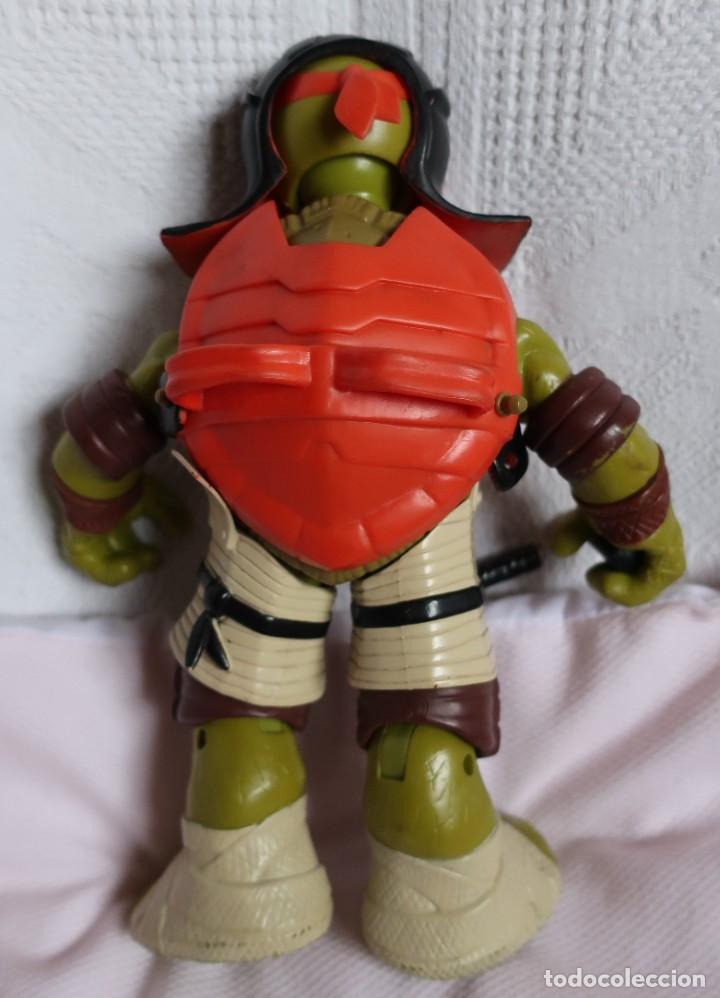 Figuras y Muñecos Tortugas Ninja: TRES TORTUGAS GRANDES, 26CM PLAYMATES 2012, 2014 Y SIN MARCAR - Foto 7 - 183913617