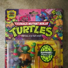 Figuras y Muñecos Tortugas Ninja: TORTUGAS NINJA REEDICIÓN 25 ANIVERSARIO PLAYMATES EN BLISTER RAPHAEL. Lote 184220020