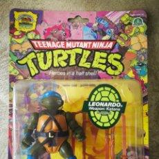 Figuras y Muñecos Tortugas Ninja: TORTUGAS NINJA REEDICIÓN 25 ANIVERSARIO PLAYMATES EN BLISTER LEONARDO. Lote 184220467