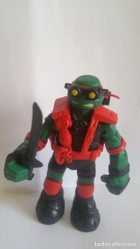 FIGURA TORTUGA NINJA / VIACOM - 2013 / MIDE 11 CMS / MUY NUEVA (Juguetes - Figuras de Acción - Tortugas Ninja)
