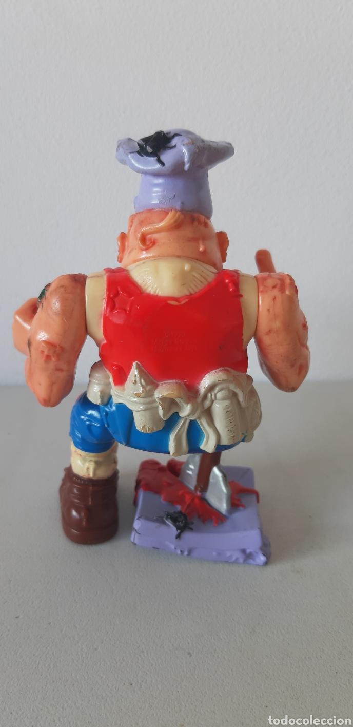 Figuras y Muñecos Tortugas Ninja: ENVIO CERT. 3 EUROS!! PIZZERO TORTUGAS NINJA. MIRAGE STUDIOS. 1990 - Foto 2 - 184927371