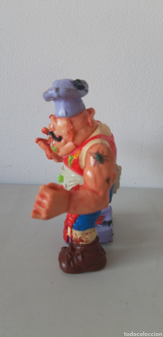 Figuras y Muñecos Tortugas Ninja: ENVIO CERT. 3 EUROS!! PIZZERO TORTUGAS NINJA. MIRAGE STUDIOS. 1990 - Foto 3 - 184927371