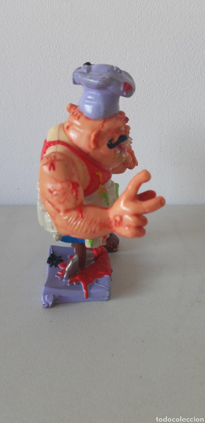Figuras y Muñecos Tortugas Ninja: ENVIO CERT. 3 EUROS!! PIZZERO TORTUGAS NINJA. MIRAGE STUDIOS. 1990 - Foto 4 - 184927371